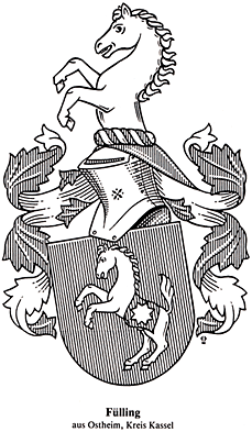 Fuelling/Fülling family coat of arms