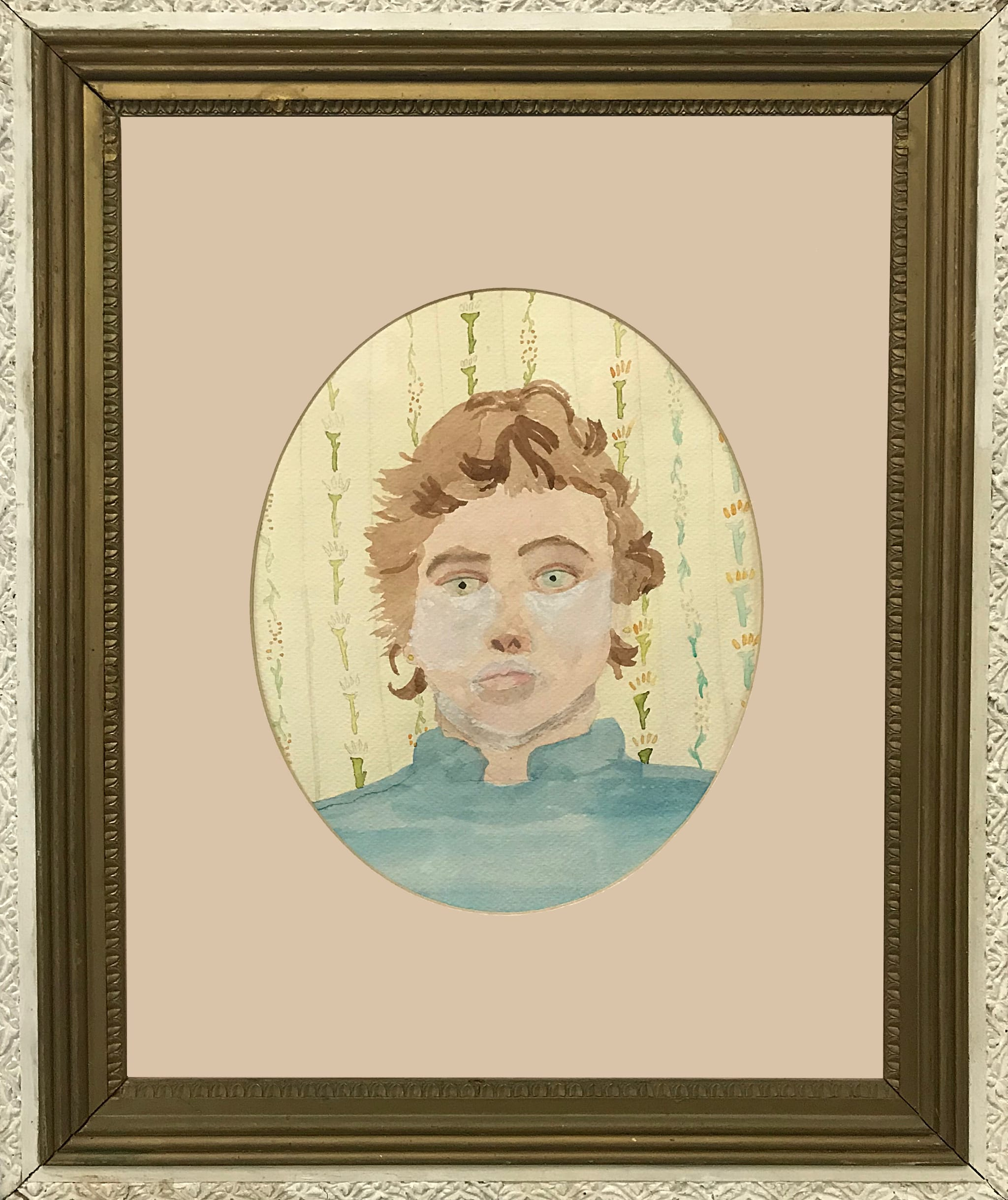 Jenny Raven, self-portrait